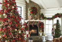 Decorazione natalizia della casa