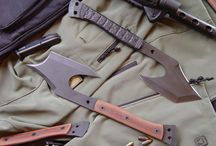 Sharp Things!  / I have a thing for cool knives and axes....things like that! Ha Don't ask me why though! Just do!