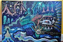 Artwork created on Ayahuasca / I created this when I was on Ayahuasca. www.emmalucyshaw.com