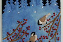 mural de invierno