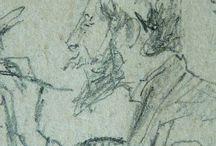 BOLDINI Giovanni - Détails / Voyage au cœur du dessin ; détails ... +++ MORE DETAILS OF ARTWORKS : https://www.flickr.com/photos/144232185@N03/collections