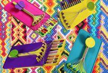 Artsy Crafty - Friendship Bracelets / by Amy Corbet-Elsbree