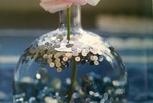 Vases and table deco