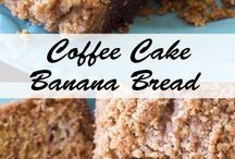 banana coffee cake bread