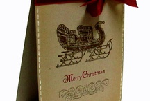 open sleigh stampin up