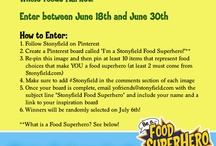 I'm a Stonyfield Food Superhero / by Judith Carlow