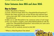 I'm a Stonyfield Food Superhero!