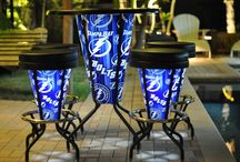 NHL - Tampa Bay Lightning - Bright Stools and Tables / www.brightstools.com
