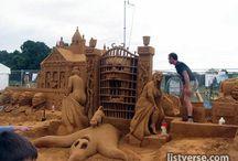 Amazing Sandcastles / Amazing and Inspiring Sandcastles #Sandcastles  / by Julee Morrison