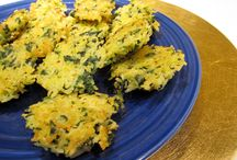 """RICE & SPINACH SAVORY """"CAKES""""  gluten free / These are tasty morsels and great finger food. Rice & Spinach Savory """"Cakes"""" Kitchen Wisdom Gluten Free Recipe  http://kitchenwisdomglutenfree.com/2014/03/29/rice-spinach-savory-cakes-gluten-free-forget-what-you-know-about-wheatc-2014/"""