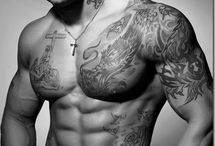 Guy Love Hotness with Tattoos