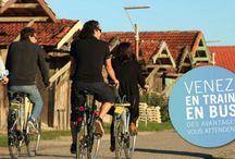 Événement Les Bicyclettes Bleues / Week-end du 31 mai 2014 . De ports en villages, votre Bassin d'Arcachon à bicyclette.