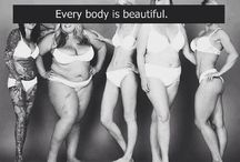 All Bodies Are Beautiful Project Inspiration Board / by Jenny Ryan