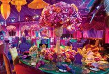 Moroccan/Asian themed Wedding
