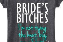 Bridesmaid tshirt
