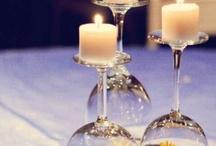 Borddekorasjon bryllup