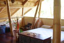 Cabañas en guadua, bambú......