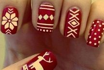 Winter/christmass nails