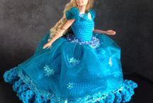 Barbiejurken gemaakt door dennis