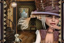 Steampunk / Victorian Steampunk and Lace