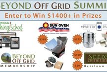 Off Grid Gear / Off Grid and Self-Reliance gear, tools, and resources / by Beyond Off Grid