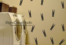 Laundry Room Decals