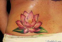 Tattoo Lotusbloem/Phoenix