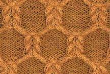 Knitting stitches & nice designs