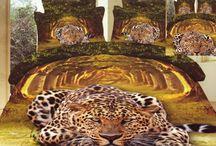Posteľné obliečky - zvieracie motívy / Posteľné obliečky s motívmi rôznych zvierat