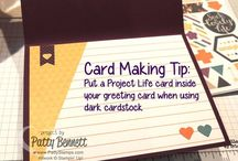 Project Life / Project Live, Stampin' Up!, papercrafts, DIY memory books, scrapbooking, www.melsinkyfingers.com