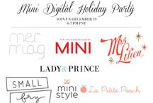 Mini Digital Holiday Party / We're throwing a digital holiday party on Thursday, December 19, 6-7 PM PST. Join us!