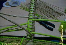 Плетение ручек