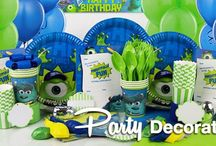 Monsters University Party Ideas / Need an idea for a fabulous kids party? Look no further than CostumeBox!