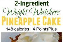 Weight Watcher Desserts and Treats