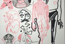 Fine liner sketches