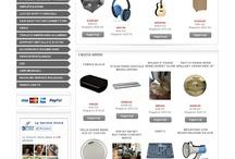 My Shop online / Vendita online di strumenti musicali e accessori