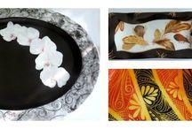 L'esprit porcelaine -peinture sur porcelaine / Des pièces en porcelaine de Limoges entièrement peintes à la main