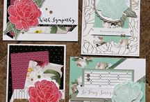 Live Beautifully papers cards