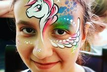 Maquillages enfants licorne