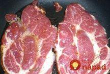 Bravčové mäso-recepty