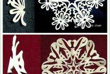 Chrıstmas snowflake