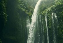 waterfall of indonesia