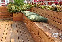 Day bed inspiration / Day bed seat for Pam's deck
