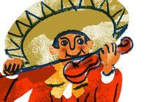 Mariachi strings