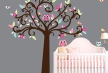 Nurseries / Boy/Girl nursery ideas / by Maria Perez-Wong