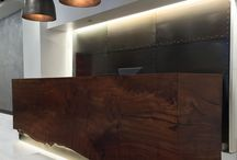 Reception desks design