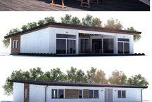 Planos de casas pequeñascasas pequeñas