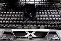 The BOX Seat at The X Factor Australia / The BOX Seat 901 installed at Fox Studios in Sydney for The X Factor 2014