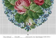 Cross  stitch&KANAVİÇE  MODELLER