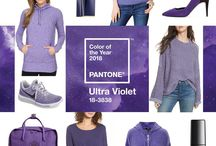 Pantone Colour of 2018 - Ultra Violet